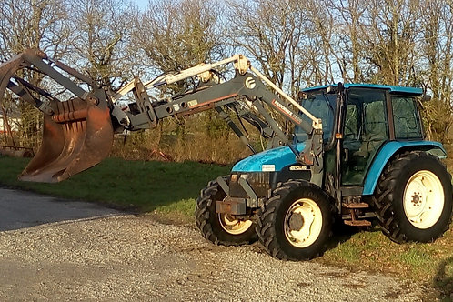 New Holland TL 80 + Chargeur