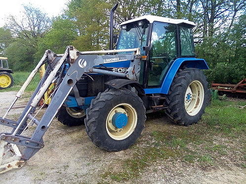 FORD  NEW HOLLAND 7740 MOTEUR NEUF + CHARGEUR