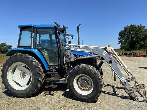 NEW HOLLAND TS 100 + CHARGEUR