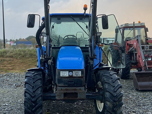NEW HOLLAND TL 100 + CHARGEUR