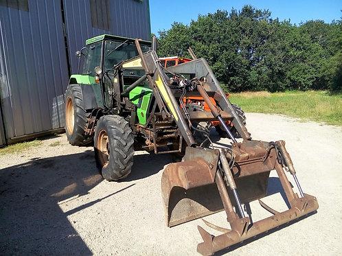 Tracteur DEUTZ DX 4.31 chargeur