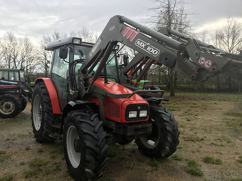 MASSEY 4245 + CHARGEUR MX 100