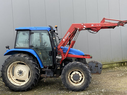 NEW HOLLAND TS 90 + CHARGEUR