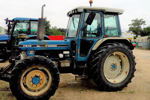 Tracteur FORD 7810  ULTRA