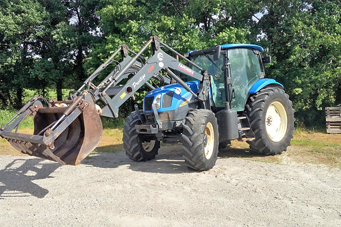 NEW HOLLAND TM 6050  + CHARGEUR
