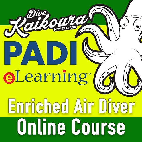 PADI Enriched Air Diver Online Course