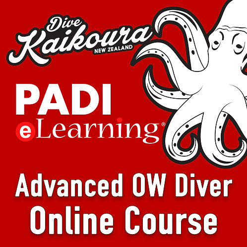 PADI Advanced OpenWater Diver Online Course
