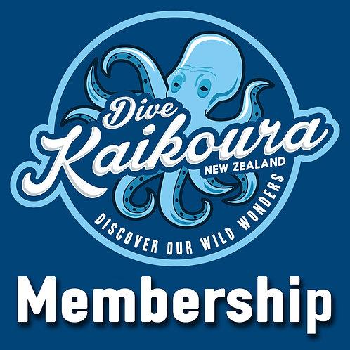 Dive Kaikoura Annual Membership