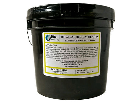 dual-cure emulsion
