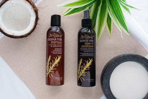 Coconut Milk Shampoo & Leave- In Conditioner