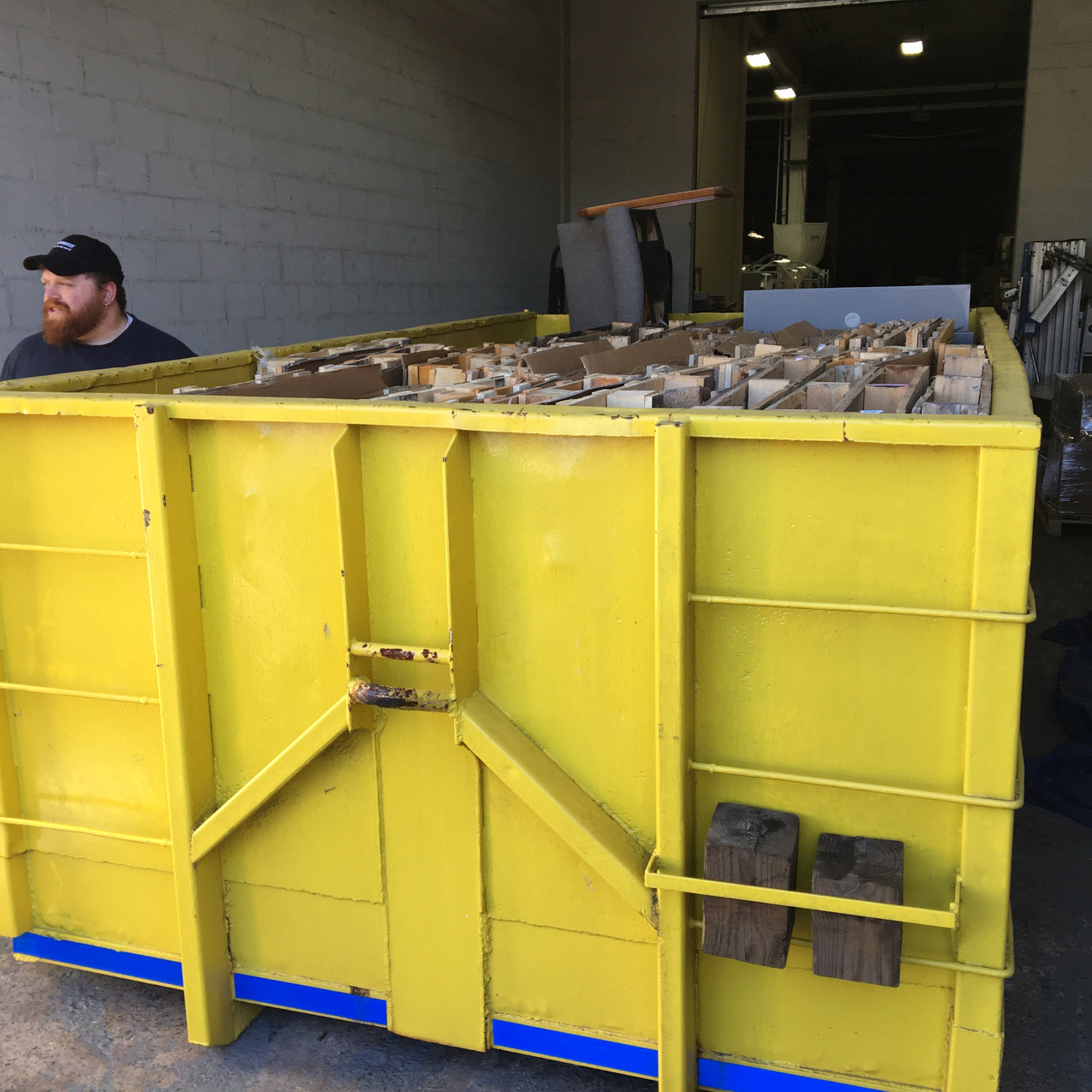 Our customer in Fairfield uses a Prendeville Disposal dumpster once a month for the past several years.