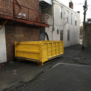 Prendeville Disposal trucks and containers are designed to easily fit into a tight, small or narrow location that other companies would never be able to access.
