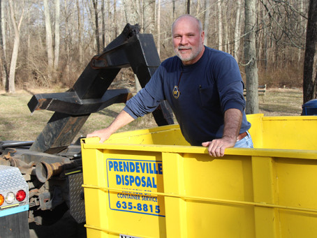 Container in Morristown?  Call Prendeville Disposal.