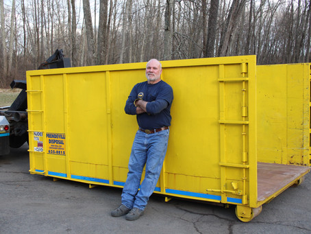 Mike Can Leave A Container During The COVID-19 Outbreak.