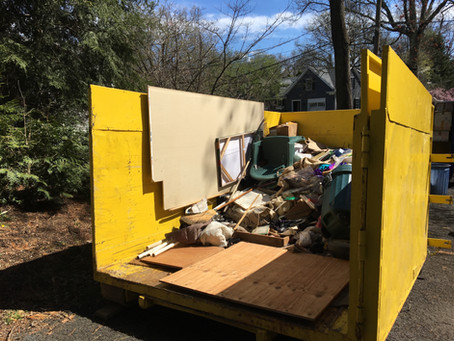 House Clean-Out in Short Hills.