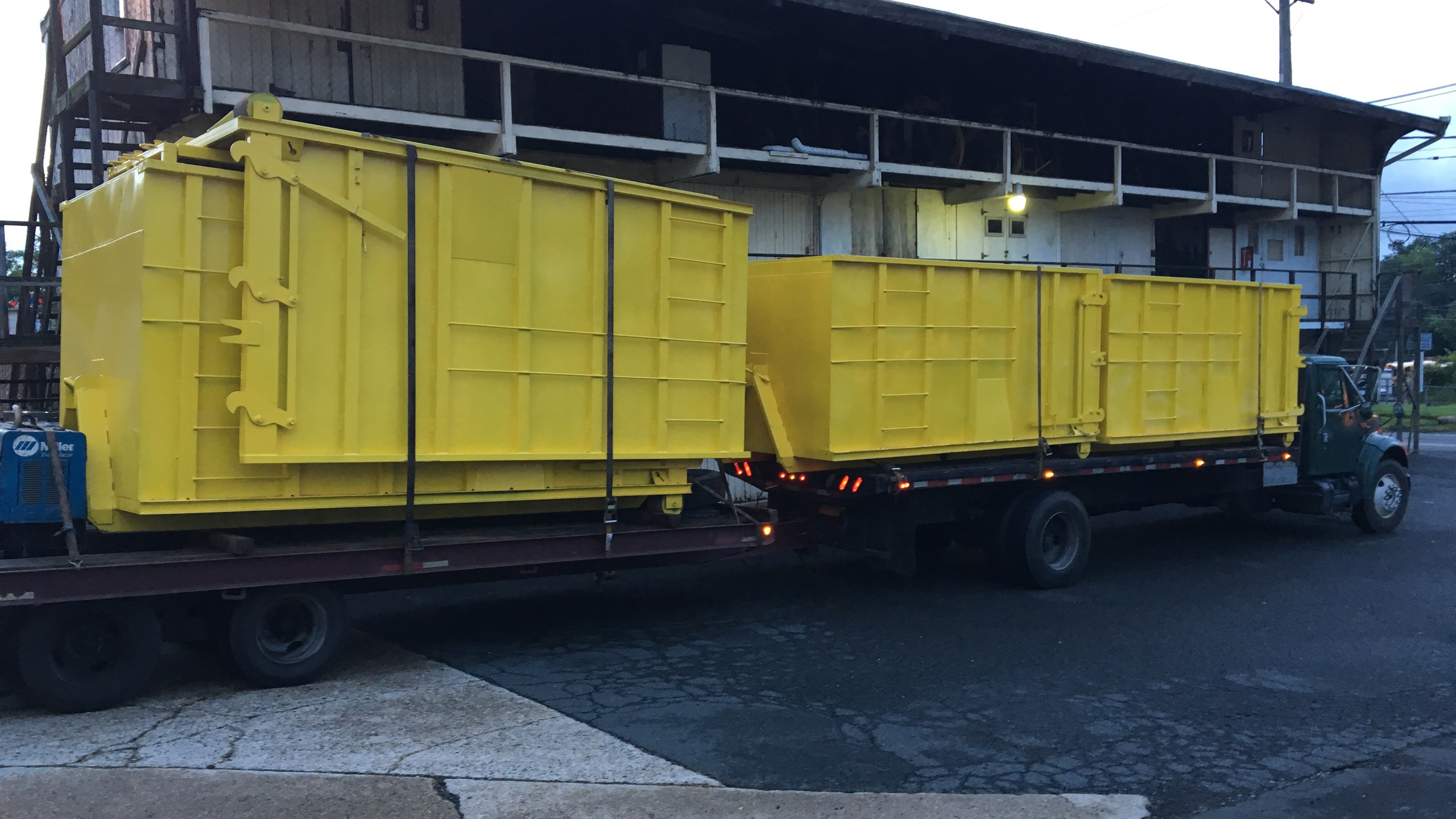 New Little Yellow Dumpsters.