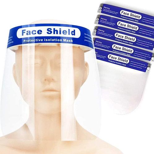 Gesichtsvisier mit Stirnband