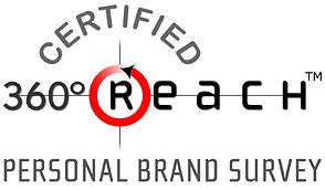 Certified 360Reach Personal Brand Survey Logo