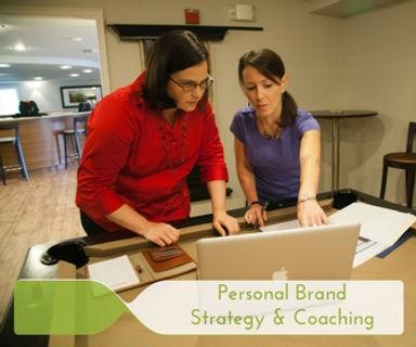 Diane Diaz working on brand strategy