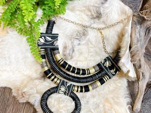 【NEW】アフリカンスタイルネックレス