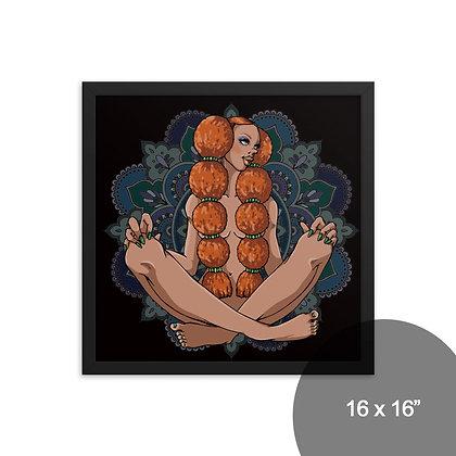 【フレーム入りポスター】MANDARA / 4サイズ