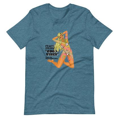 【ユニセックスTシャツ】VIBES / 12カラー
