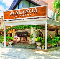 Fachada Restaurante Malanga del Trópico Medellín Laureles