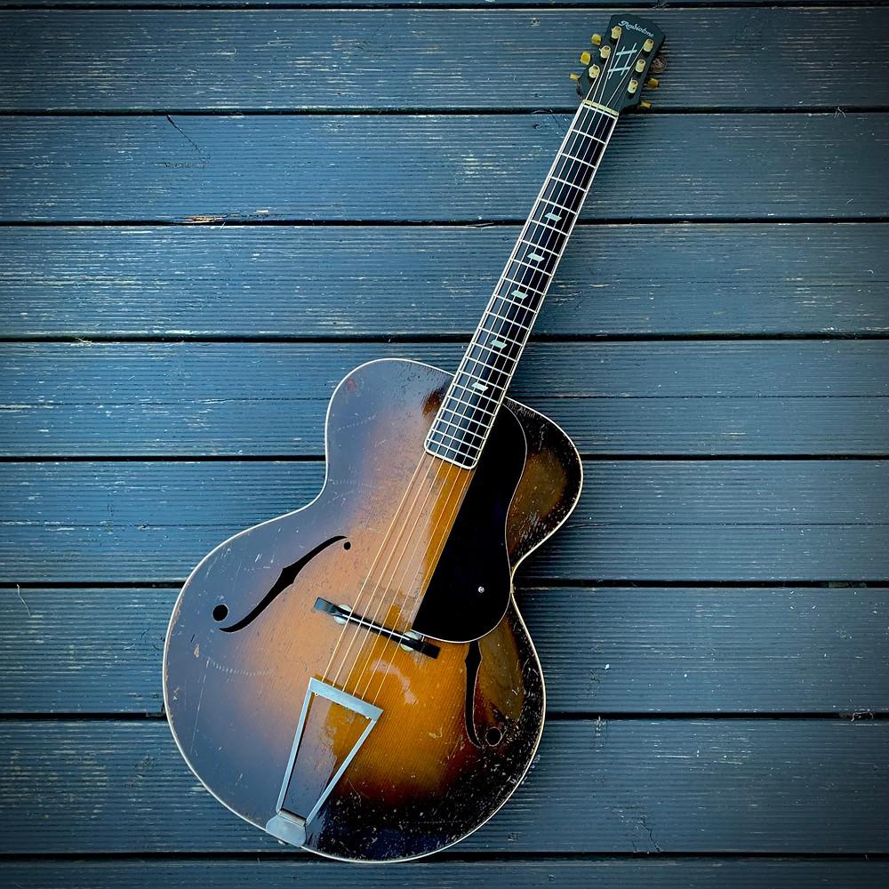Radiotone Archtop guitar