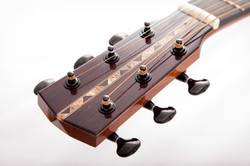 Malone Guitars Single Luthier headstock