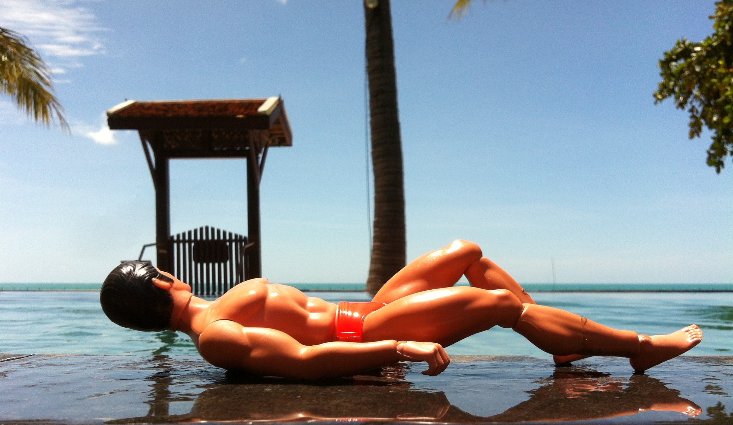 013 - sunbathing