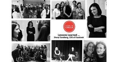 Sheryl Sandberg fireside talk with Lean In Europe members