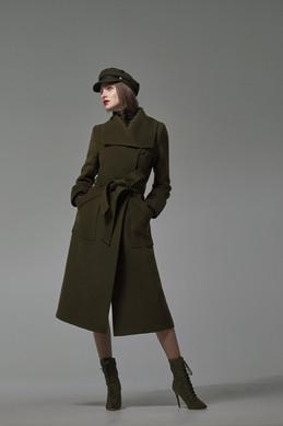 SENTALER_Long_Wide_Collar_Wrap_Coat_Army_Christina Fiori