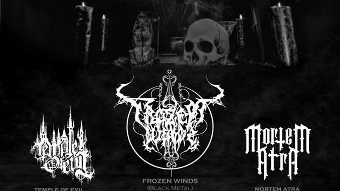 Frozen Winds album presentation - w/ Temple of Evil, Mortem Atra