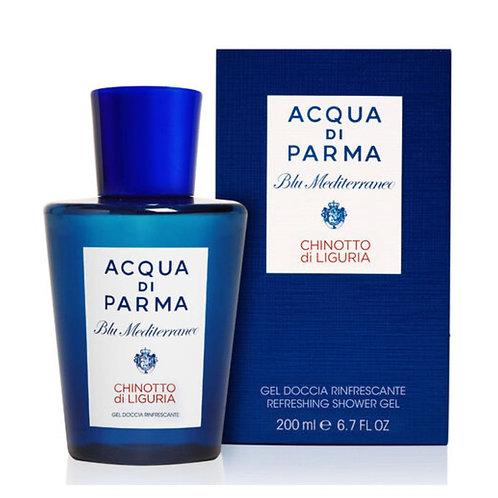 Acqua di Parma Blu Mediterraneo Gel doccia rinfrescante al chinotto di Liguria - Profumo Sabaudia