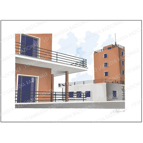 Azienda Agraria O.N.C. - Acquerello Razionale - Sabaudia Razionale for Galleria Papier