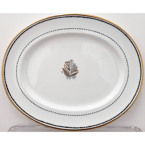 Vassoio Crown Staffordshire del 1946 - Galleria Papier antiquariato
