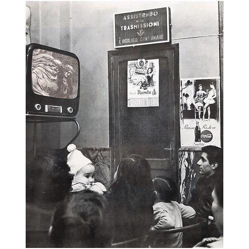Alfonso Marino - Inferno in un bar, Doré - Collage -  Exclusive Galleria d'arte Papier