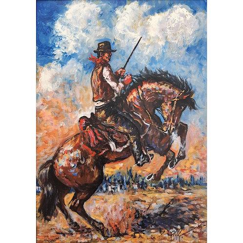 Giovan Francesco Gonzaga - Il domatore di cavalli 2007 - Galleria Papier