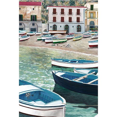 Catello D'Amato - Barche a Seiano - Exclusive Galleria Papier