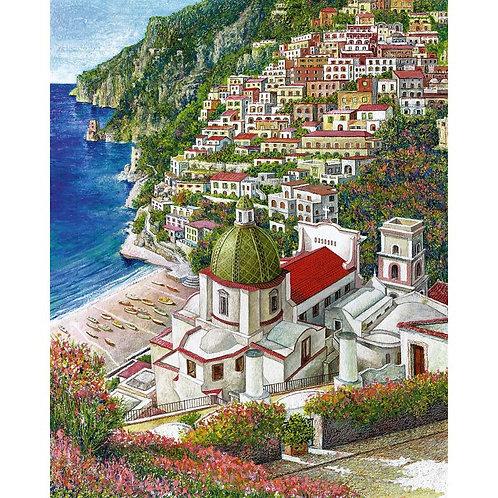 Catello D'Amato - Positano - Exclusive Galleria Papier