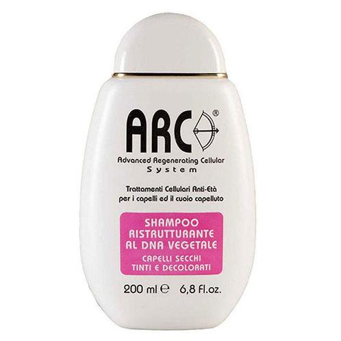Arc Shampoo Ristrutturante per Capelli secchi, tinti e decolorati - Profumo Sabaudia