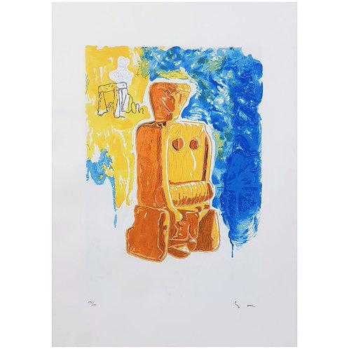 Mario Schifano - Mater Matuta 1996 - Galleria Papier