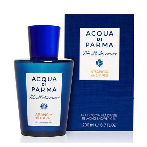 Acqua di Parma Blu Mediterraneo Arancia di Capri Gel doccia rilassante- Profumo Sabaudia