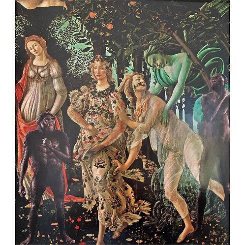 Alfonso Marino - Intrusione 14: Botticelli - Exclusive Galleria Papier