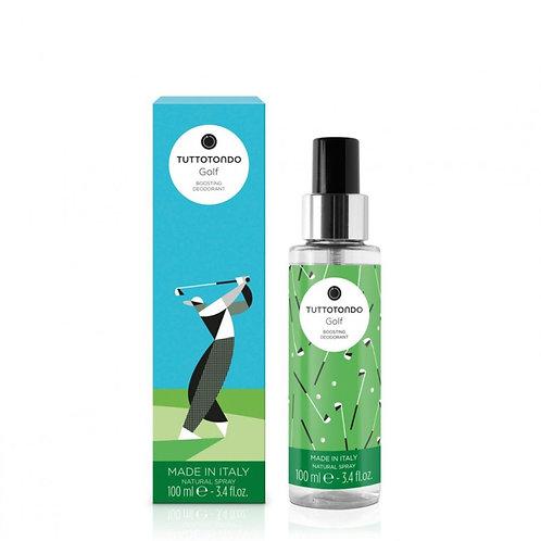 Tuttotondo Golf Deodorante spray rivitalizzante - Profumo Sabaudia