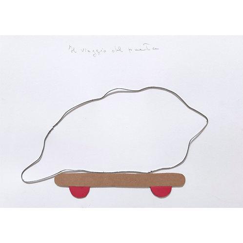 Alfonso Marino - La nuvola stanca - Il viaggio del poeta - Exclusive Galleria d'arte Papier