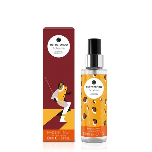 Tuttotondo Scherma Deodorante spray ristrutturante - Profumo Sabaudia