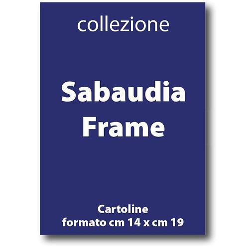 Serie completa delle Cartoline di Sabaudia Frame di I Love Sabaudia Razionale - Galleria Papier
