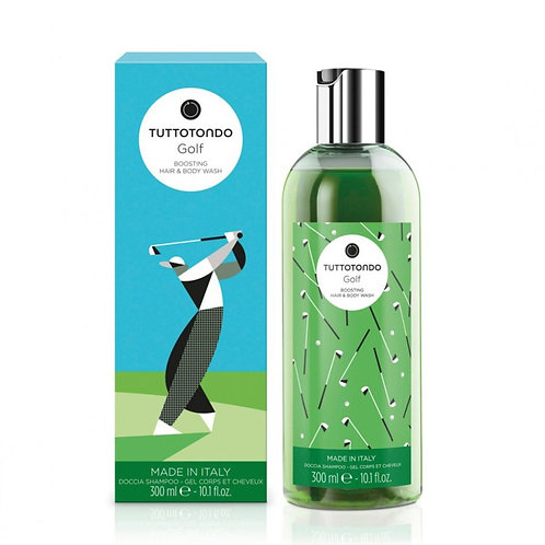 Tuttotondo Golf Doccia Shampoo rivitalizzante - Profumo Sabaudia
