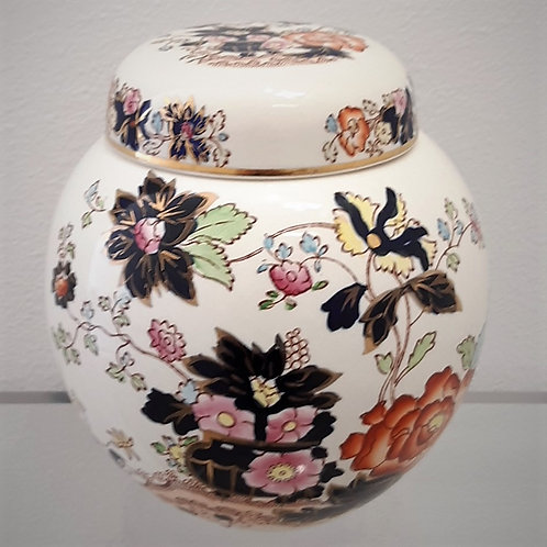 Tea Caddy Mason's Mandarin 1923 Galleria Papier